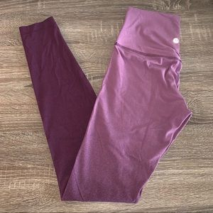 **SOLD** Lululemon Align Ombre Size 6